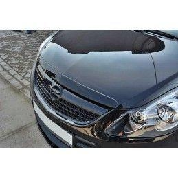 Maxton design Capot Ajouter Opel Corsa D Opc / Vxr Gloss Black