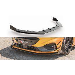 Maxton design Sport Durabilité Lame Du Pare-Chocs Avant + Flaps Ford Focus St / St-Line Mk4