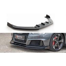 Sport Durabilité Lame Du Pare-Chocs Avant + Flaps Audi Rs3 8v