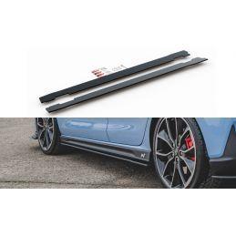 Maxton design Sports Durabilité Rajouts Des Bas De Caisse Hyundai I30 N Mk3 Hatchback / Fastback Red