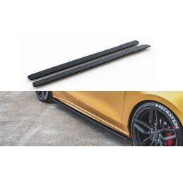 Maxton design Sports Durabilité Rajouts Des Bas De Caisse Ford Focus St / St-Line Mk4 Black