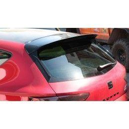Becquet Extension Seat Leon Mk3 Cupra Facelift Gloss Black