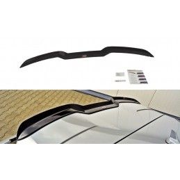 Maxton design Spoiler Cap V.1 Audi Rs3 8v / 8v Fl Sportback Gloss Black