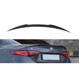 Maxton design Becquet Extension Alfa Romeo Giulia Veloce Textured