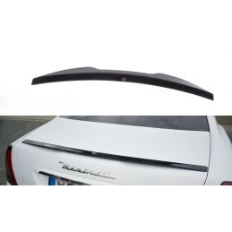Maxton design Becquet Extension Maserati Quattroporte Mk5 Facelift Textured