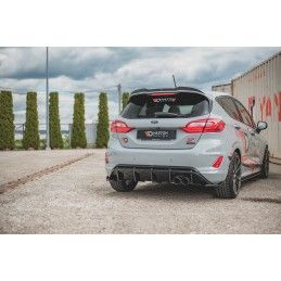 Maxton design Spoiler Cap V.3 Ford Fiesta Mk8 St / St-Line Carbon Look