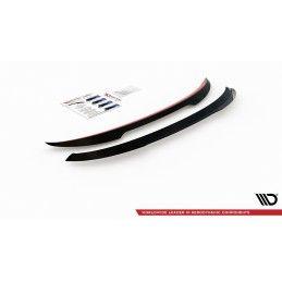 Maxton design Spoiler Cap Ford Puma Gloss Black