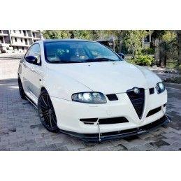 Hybrid Lame Du Pare-Chocs Avant Alfa Romeo Gt Abs+Carbon Look