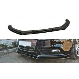 Lame Du Pare-Chocs Avant V.1 Audi A4 B8 Fl Carbon Look