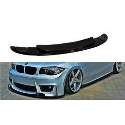 Lame Du Pare-Chocs Avant Bmw 1 E87 M-Design Carbon Look