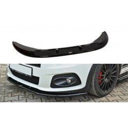 Maxton design Lame Du Pare-Chocs Avant V.2 Fiat Grande Punto Abarth Carbon Look