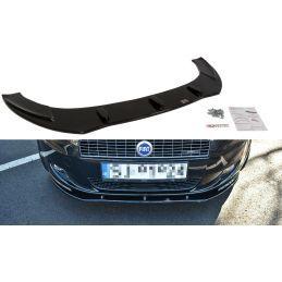 Maxton design Lame Du Pare-Chocs Avant Fiat Grande Punto Standard Carbon Look