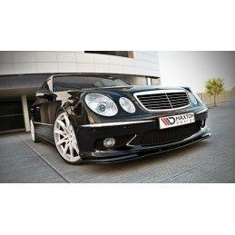 LAME DU PARE-CHOCS AVANT MERCEDES E W211 AMG AVANT FACELIFT Look Carbone, W211