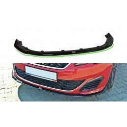 Lame Du Pare-Chocs Avant V.1 Peugeot 308 Ii Gti Carbon Look