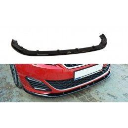 Lame Du Pare-Chocs Avant V.2 Peugeot 308 Ii Gti Carbon Look