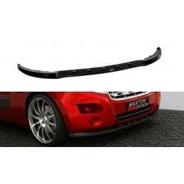 Lame Du Pare-Chocs Avant Renault Master Mk3 Carbon Look
