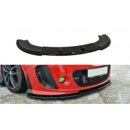 Lame Du Pare-Chocs Avant Seat Leon Mk2 Ms Design Carbon Look