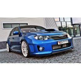 Maxton design Lame / Splitter Subaru Impreza Wrx Sti 2011-2014 Carbon Look