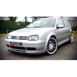 LAME DU PARE-CHOCS AVANT VW GOLF IV (POUR 25TH RAJOUT AVANT) Look Carbone, Golf 4