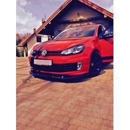 Lame De Pare-Chocs Avant Vw Golf Vi Golf Gti 35th Carbon Look