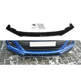 Maxton design Lame Du Pare-Chocs Avant / Splitter V.1 Subaru Brz Facelift Carbon