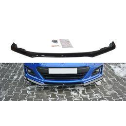 Maxton design Lame Du Pare-Chocs Avant / Splitter V.2 Subaru Brz Facelift Carbon