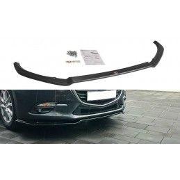 LAME DE PARE-CHOCS AVANT v.1 Mazda 3 BN (Mk3) Facelift Look Carbone, Mazda 3