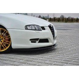 Lame Du Pare-Chocs Avant V.1 Alfa Romeo Gt Carbon Look