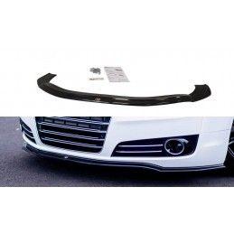 LAME DU PARE-CHOCS AVANT V.1 Audi A8 D4 Look Carbone, A8/S8 D4