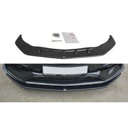 LAME DU PARE-CHOCS AVANT V.1 Mercedes CLA A45 AMG C117 Facelift Look Carbone, CLA