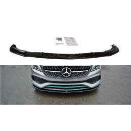 Maxton design Lame Du Pare-Chocs Avant / Splitter V.1 Mercedes-Benz Cla C117 Amg-Line Facelift