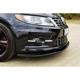 Lame Du Pare-Chocs Avant / Splitter Volkswagen Cc R-Line Carbon