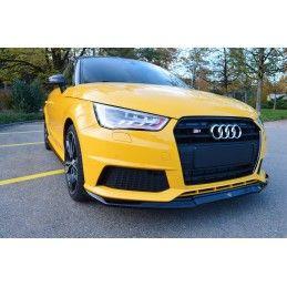 Lame Du Pare-Chocs Avant Audi S1 8X Look Carbone, A1 8X
