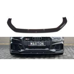 Maxton design Lame Du Pare-Chocs Avant / Splitter V.1 Audi Rs3 8v Fl Sportback Carbon Look
