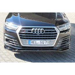 Lame Du Pare-Chocs Avant Audi SQ7 / Q7 S-Line Mk.2 Look Carbone, Q7 / SQ7