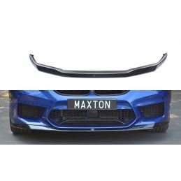 Lame Du Pare-Chocs Avant / Splitter V.1 Bmw M5 F90 Carbon Look