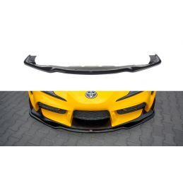 Maxton design Lame Du Pare-Chocs Avant / Splitter V.2 Toyota Supra Mk5 Carbon Look