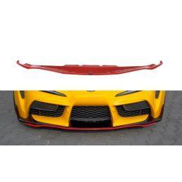 Maxton design Lame Du Pare-Chocs Avant / Splitter V.3 Toyota Supra Mk5 Carbon Look