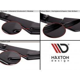 Maxton design Lame Du Pare-Chocs Avant Bmw X2 F39 M-Pack Carbon Look