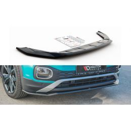Lame Du Pare-Chocs Avant Volkswagen T-Cross Look Carbone, T-Cross