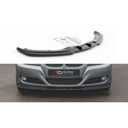 Lame Du Pare-Chocs Avant V.2 Bmw 3 E90/E91 Facelift Carbon Look