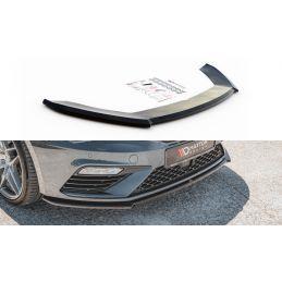 Lame Du Pare-Chocs Avant V.4 Seat Leon Cupra / Fr Mk3 Fl Carbon
