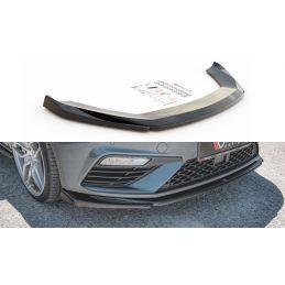 Lame Du Pare-Chocs Avant V.5 Seat Leon Cupra / Fr Mk3 Fl Carbon