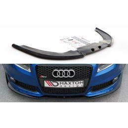 Lame Du Pare-Chocs Avant V.2 Audi Rs4 B7 Carbon Look