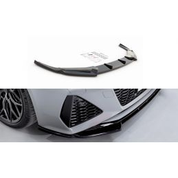 Lame Du Pare-Chocs Avant V.1 Audi Rs6 C8 Carbon Look