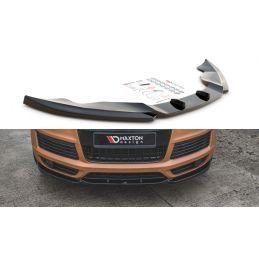 Lame Du Pare-Chocs Avant Audi Q7 S-Line Mk.1 Look Carbone, Q7 / SQ7