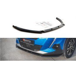 Lame Du Pare-Chocs Avant V.2 Peugeot 2008 Mk2 Carbon Look