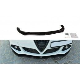 LAME DE PARE-CHOCS AVANT v.1 Alfa Romeo Giulietta Noir Brillant, Giulietta