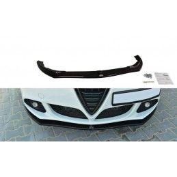 Lame De Pare-Chocs Avant V.1 Alfa Romeo Giulietta Gloss Black