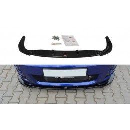 Maxton design Lame Du Pare-Chocs Avant Ford Focus Rs Mk1 Gloss Black